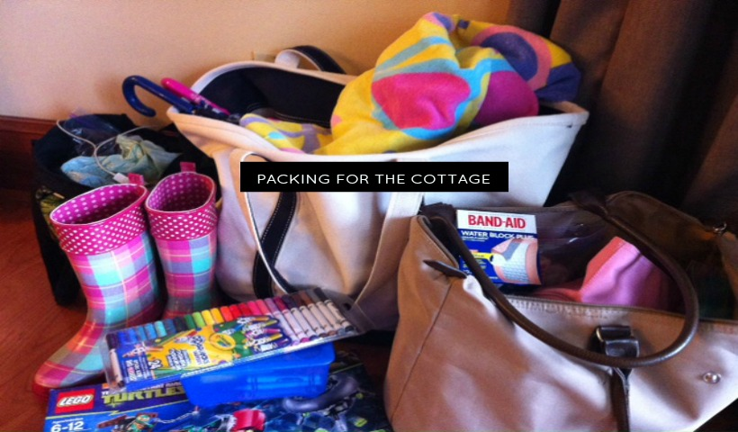Tips for packing for the cottage