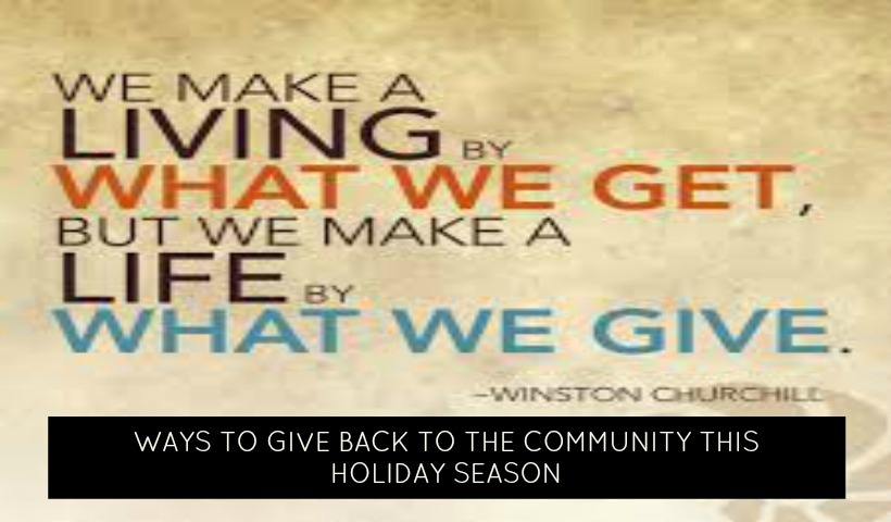 Ways to Give Back This Holiday Season In Vaughan And The GTA